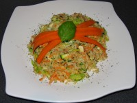 Vollkorn-Gemüsereis