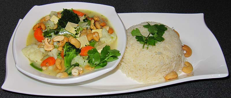 Grünes-Kokos-Curry