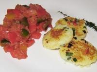 Kartoffel-Salbei-Taler-an-Paprikagemüse