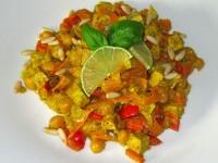 Kichererbsen-Tofu-Curry