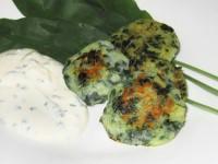 Bärlauch-Kartoffel-Plätzchen