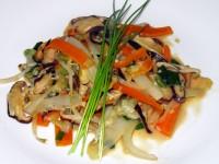 Shiitake-Asia-Gemüse