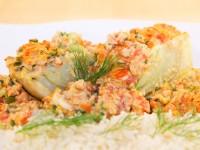 Fenchel mit Soja-Tomaten-Sugo