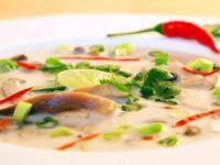 Vegane Tom Kha Het Suppe
